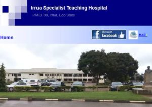 Irua Specialist Hospital Post Basic Nursing