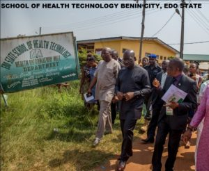 School of Health Technology Benin City Edo state